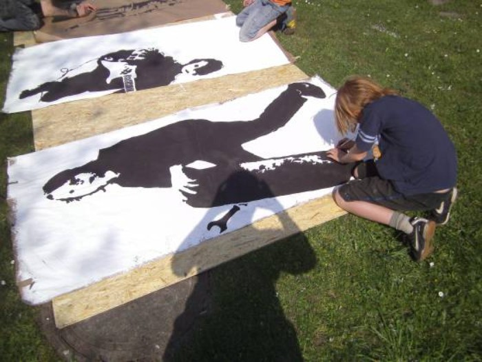 Stencil / Streetart / Cut-Out Teil 2