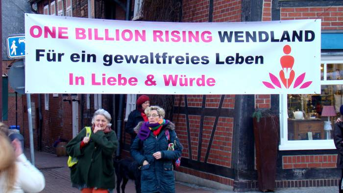 ONE BILLION RISING for REVOLUTION