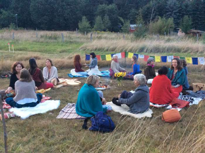 Yogini Sommer Retreat an der Elbe